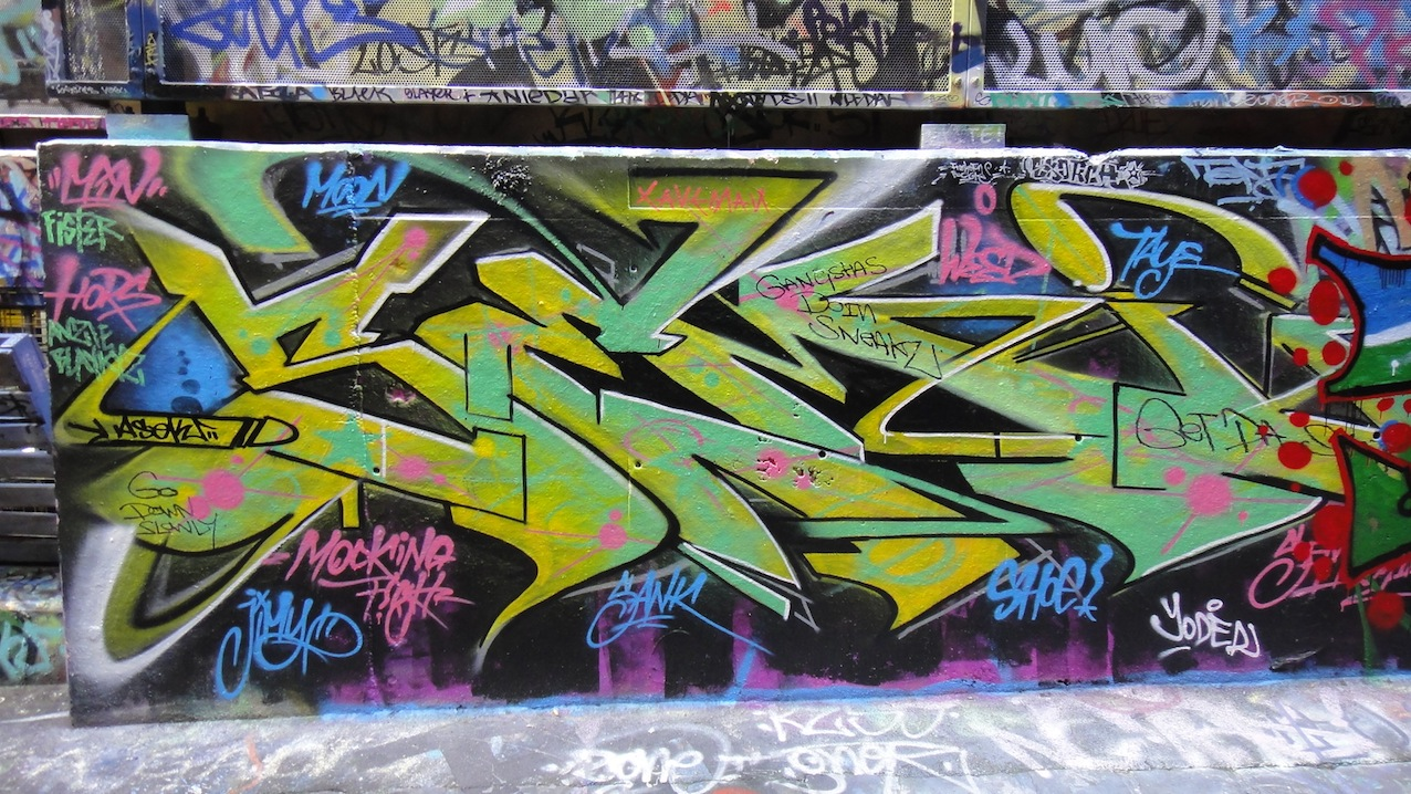Documenting street art and graffiti in melbourne and beyond