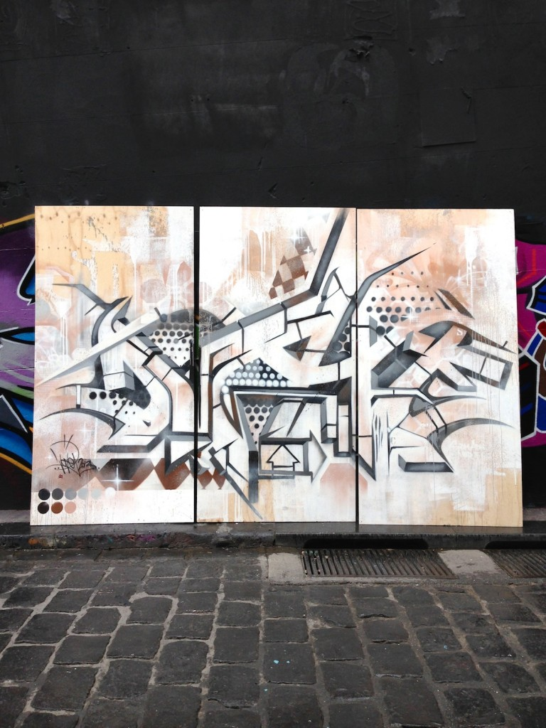 deansunshine_landofsunshine_melbourne_streetart_graffiti_ALLYOUWALLS  DVATE 3D mapping 1