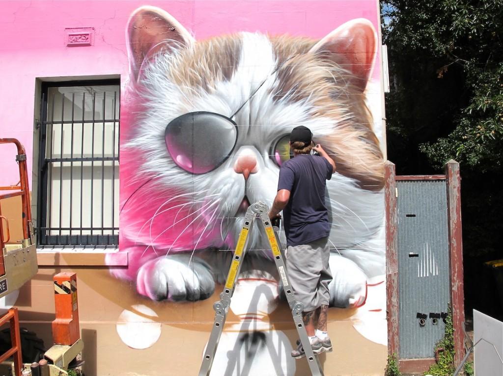 deansunshine_landofsunshine_melbourne_streetart_graffiti_Smug fitzroy 7