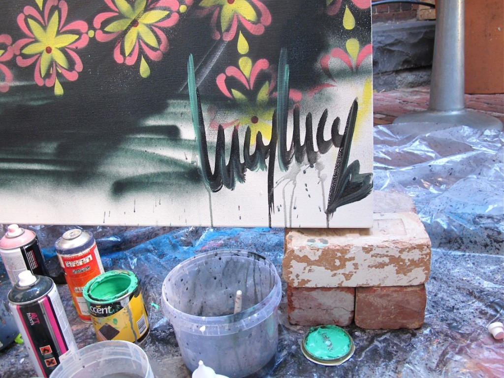 deansunshine_landofsunshine_melbourne_streetart_graffiti_LUCYLUCY live paint 1