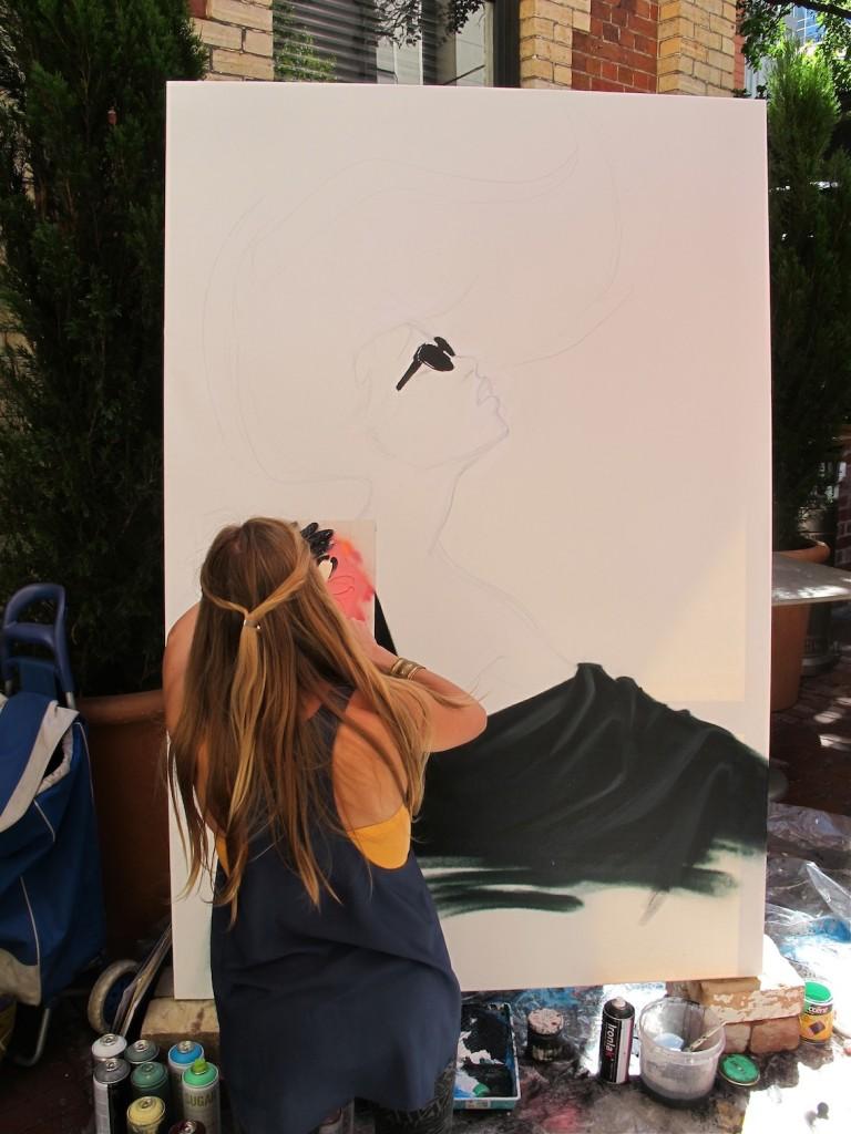 deansunshine_landofsunshine_melbourne_streetart_graffiti_LUCYLUCY live paint 2