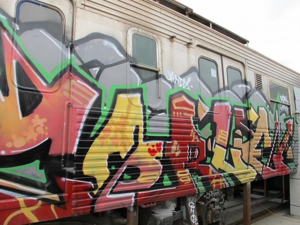 deansunshine_landofsunshine_melbourne_streetart_graffiti_ITN train bombed 2