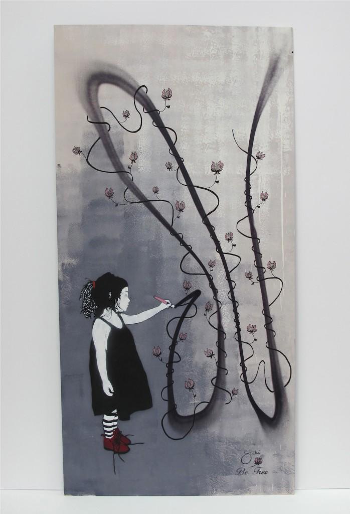 deansunshine_landofsunshine_melbourne_streetart_graffiti_MSFW14 project 13 BE FREE SUKI