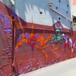 deansunshine_landofsunshine_melbourne_streetart_graffiti_brunswick paint up 1