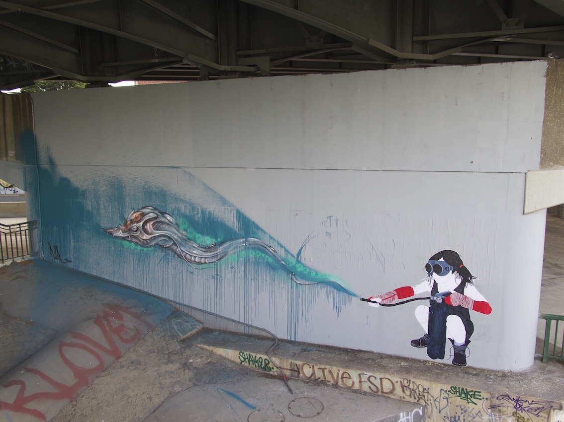 deansunshine_landofsunshine_melbourne_streetart_graffiti_invurt top ten 45 7 BeFree Knock