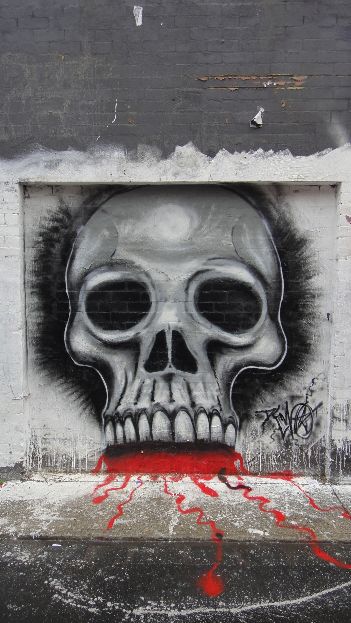 Tagsbrunswick Deansunshine Graffiti Kid Zoom Landofsunshine Melbourne Pasteups Skulls Stencils Streetart Unwell Bunny