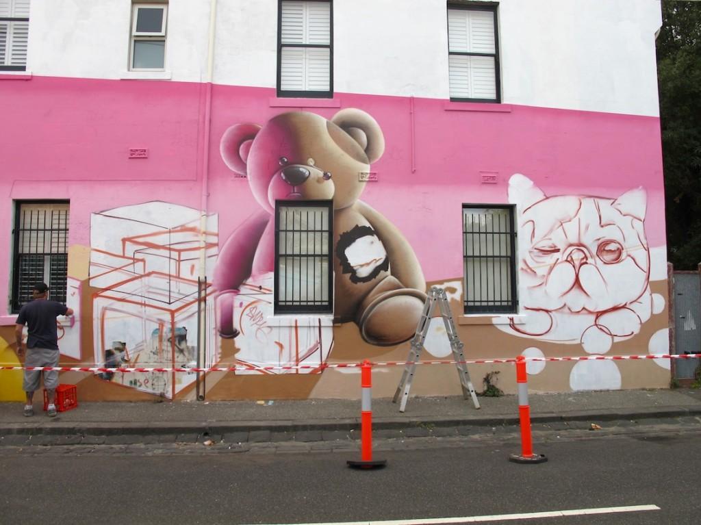 deansunshine_landofsunshine_melbourne_streetart_graffiti_Smug fitzroy 5