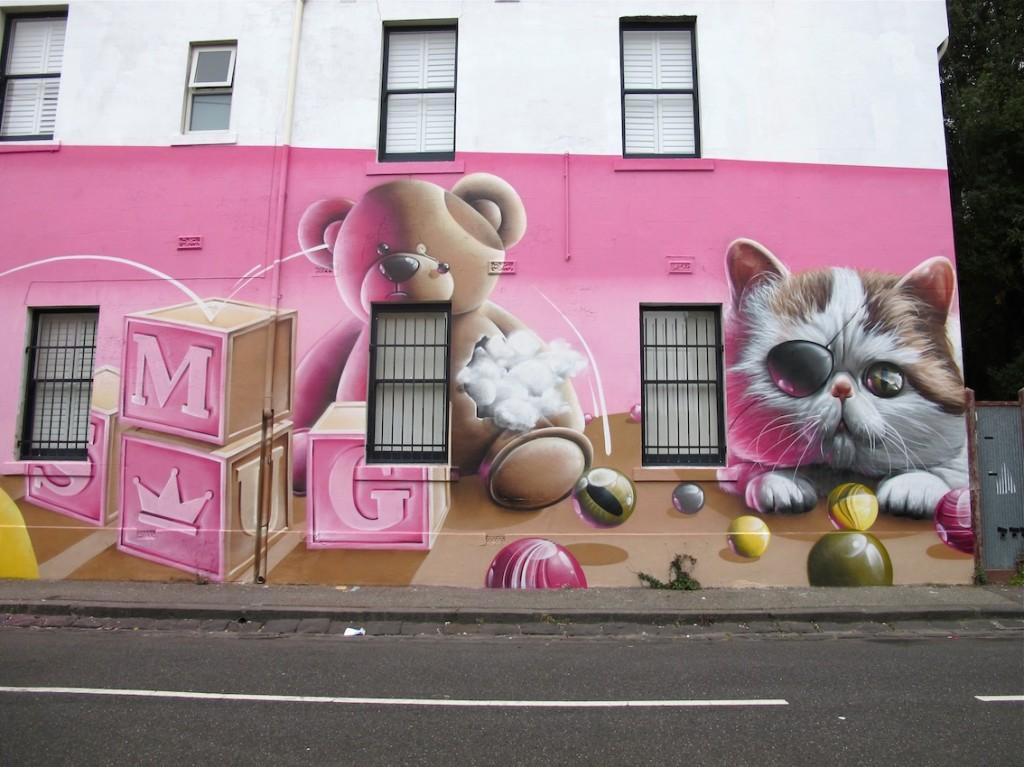 deansunshine_landofsunshine_melbourne_streetart_graffiti_Smug fitzroy 8