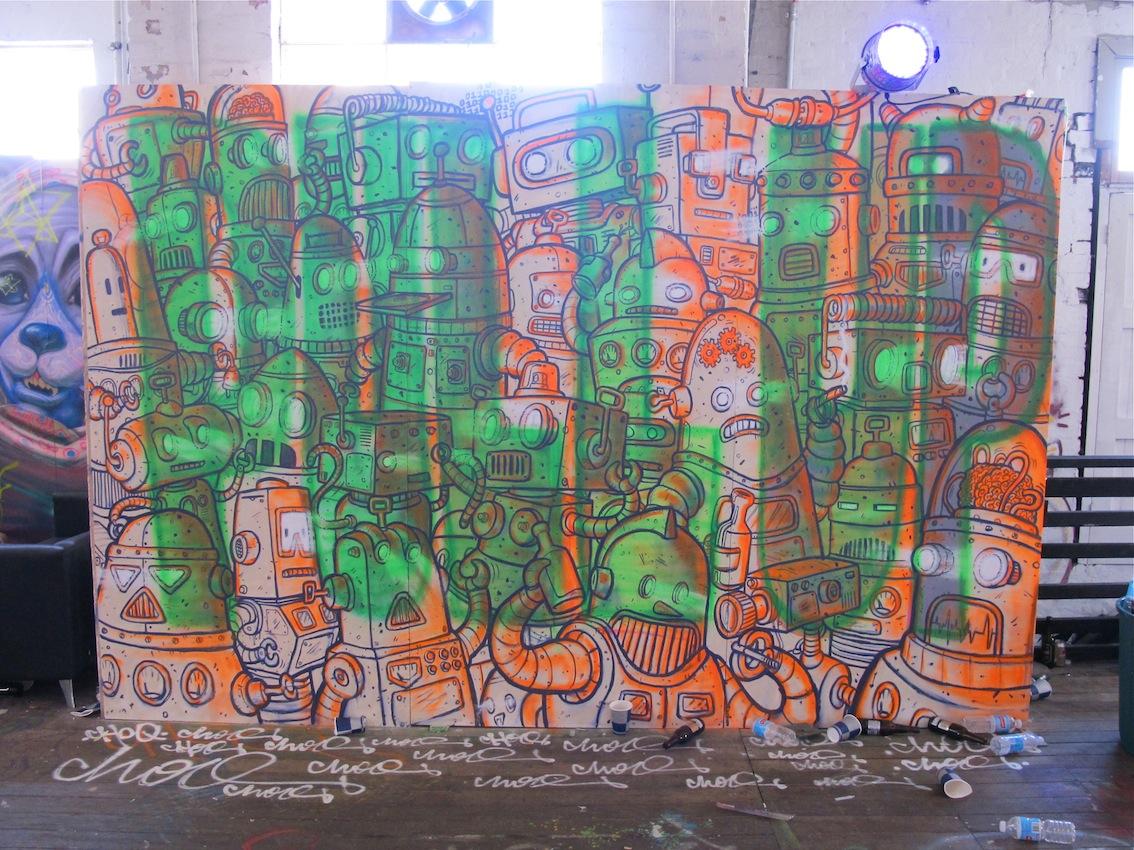 Deansunshine landofsunshine melbourne streetart graffiti pull up 7 land of sunshine