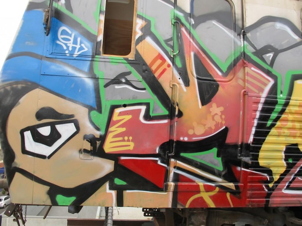 deansunshine_landofsunshine_melbourne_streetart_graffiti_ITN train bombed 1