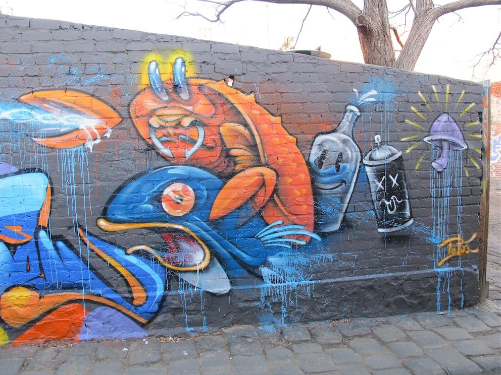 deansunshine_landofsunshine_melbourne_streetart_graffiti_Be Free Bailer and friends 2