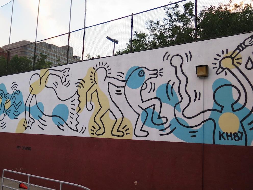 deansunshine_landofsunshine_melbourne_streetart_graffiti_KEITH HARING NYC 5