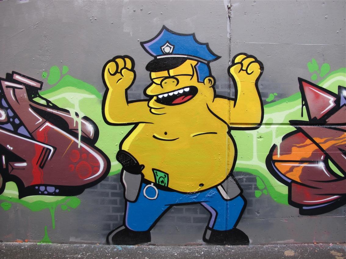 Картинки прикольного граффити, днем
