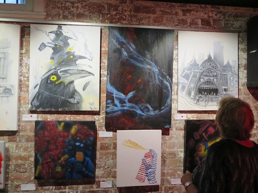 deansunshine_landofsunshine_melbourne_streetart_graffiti_making bail show 3