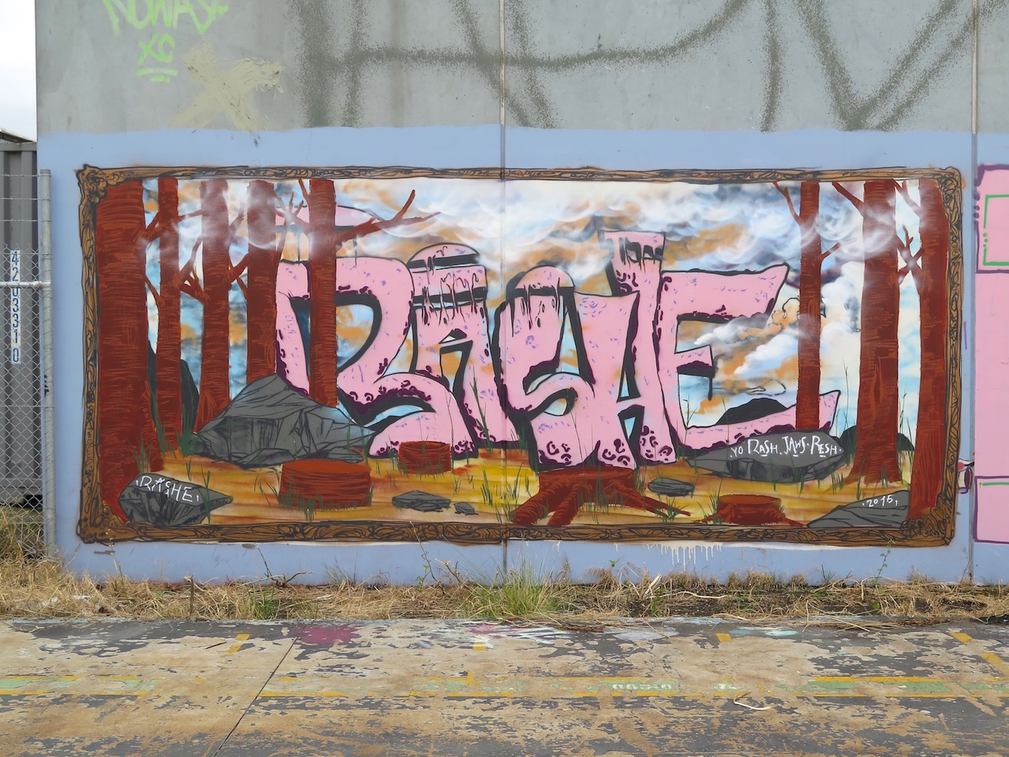 deansunshine_landofsunshine_melbourne_streetart_graffiti_ three mates in pt melb 2