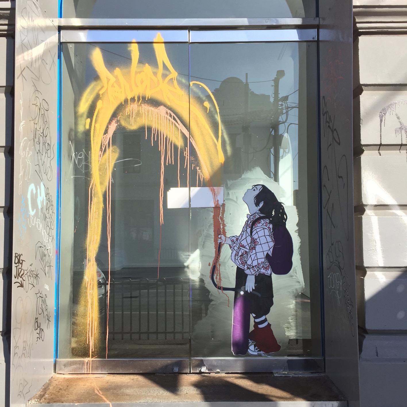 deansunshine_landofsunshine_melbourne_streetart_graffiti_invurt top ten 52 1 BeFree Knock