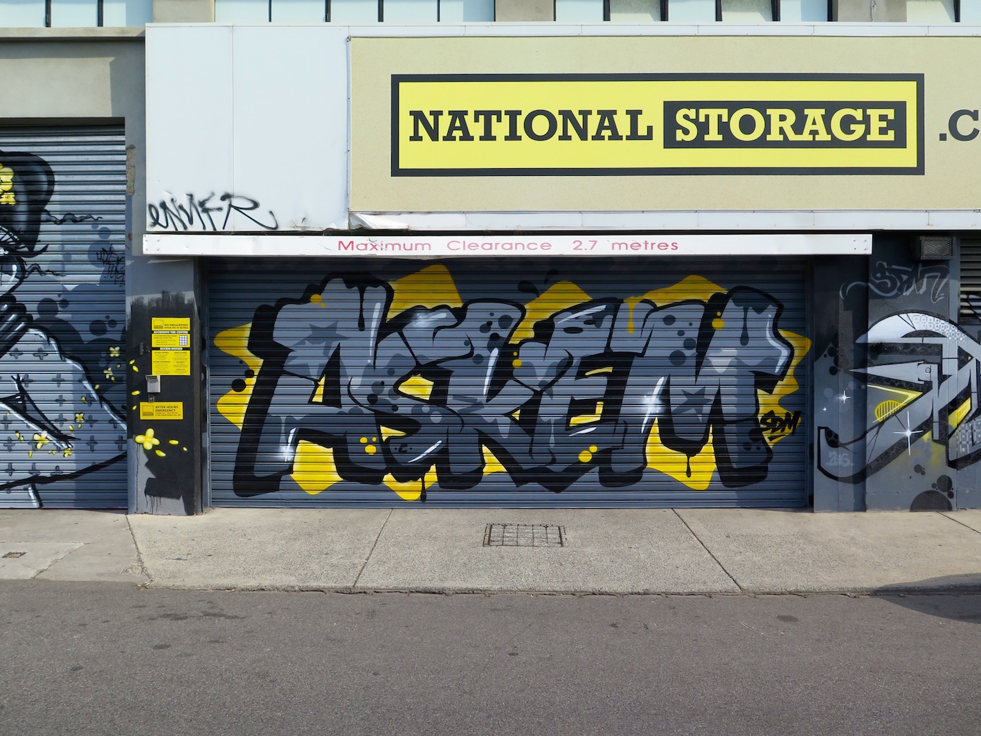 deansunshine_landofsunshine_melbourne_streetart_graffiti_national storage 4