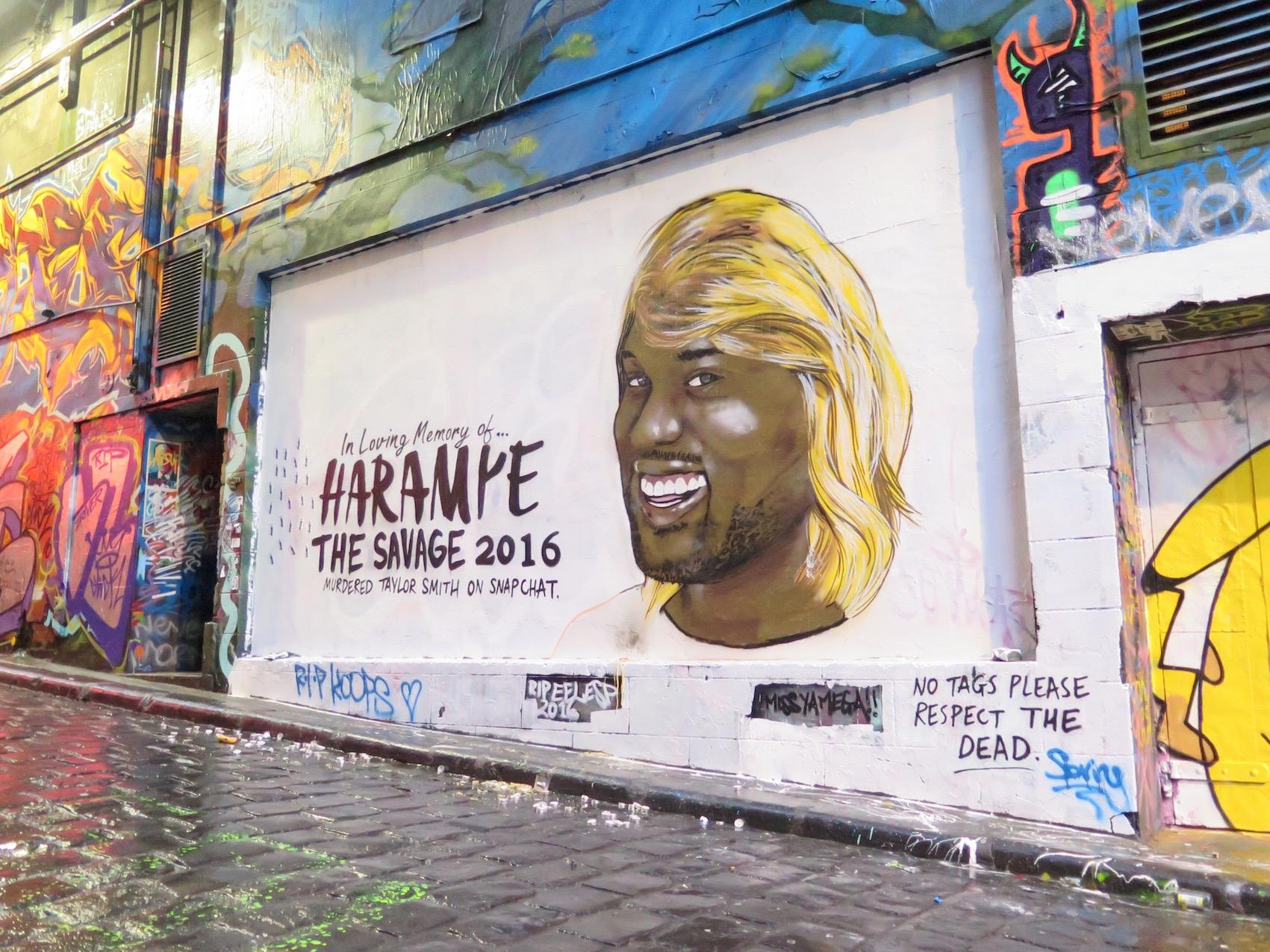 deansunshine_landofsunshine_melbourne_streetart_graffiti_Lush celebrity hosier lane 3 Kanye west Kimye 3
